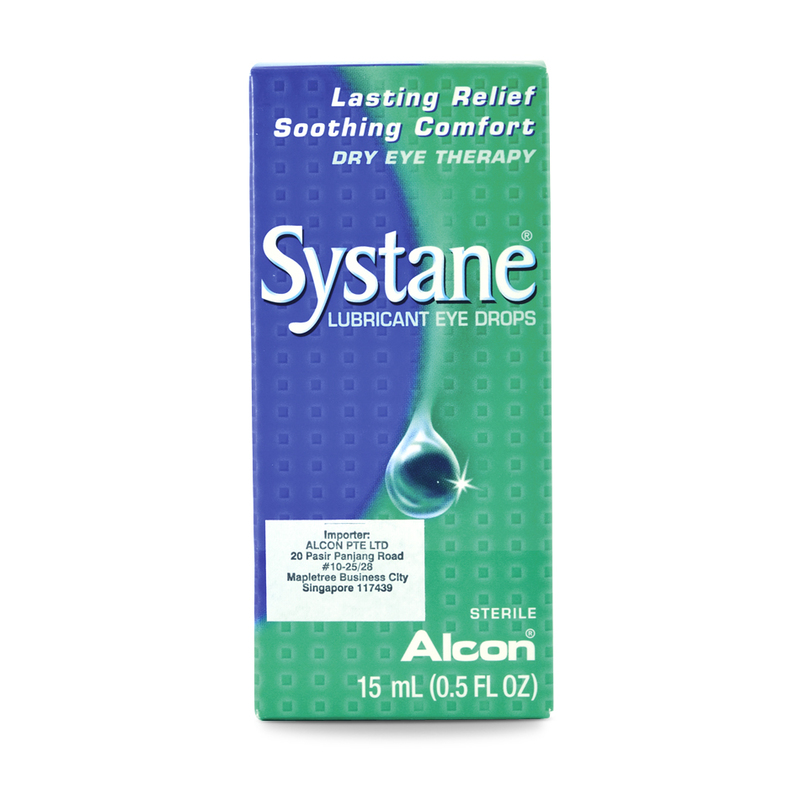 Alcon Systane Lubricant Eye Drops, 15ml