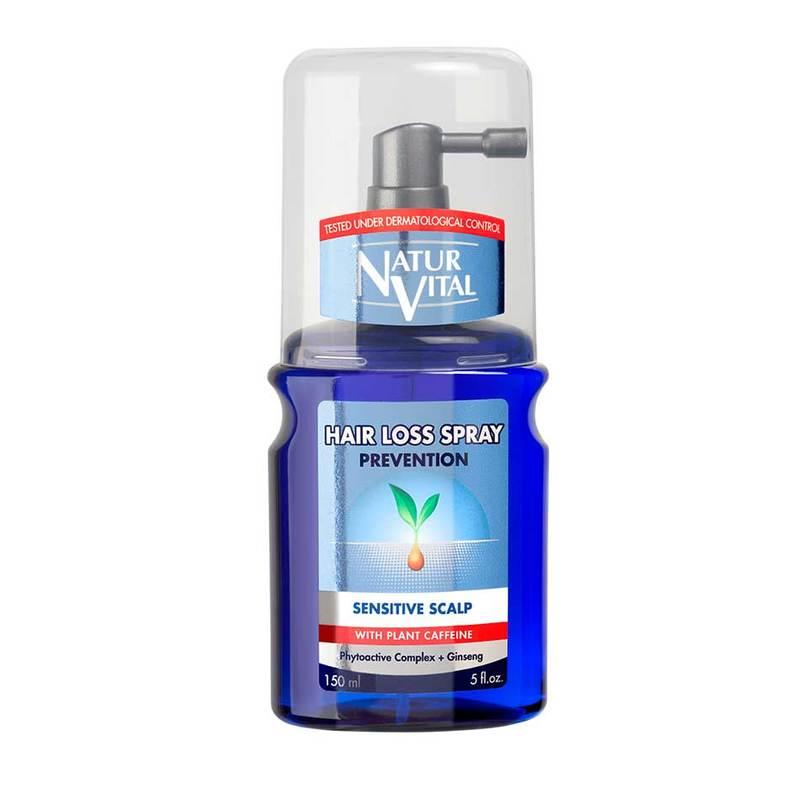 Naturvital Hair Loss Spray - Sensitive Scalp, 150ml
