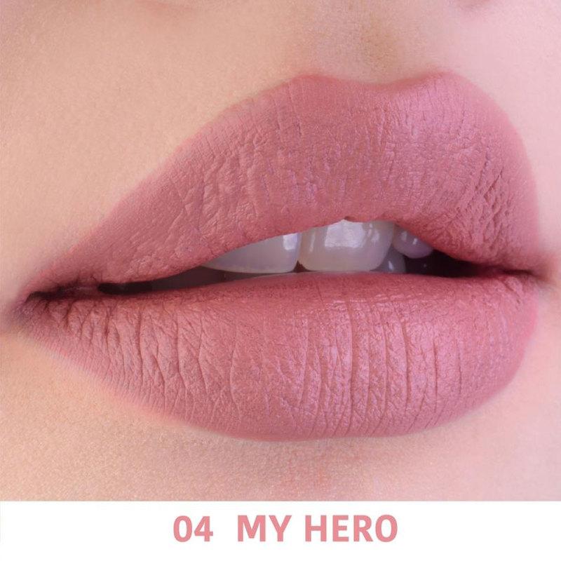 4U2 You're Mine Matte Lipstick No. 4 My Hero