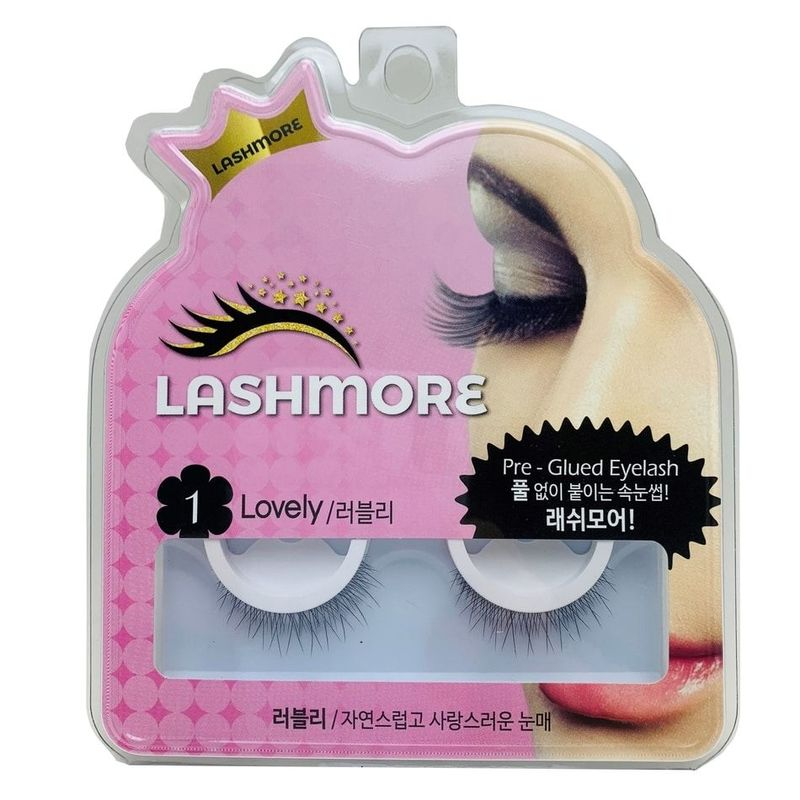 Lashmore #1 Lovely Pre-Glued Eyelash