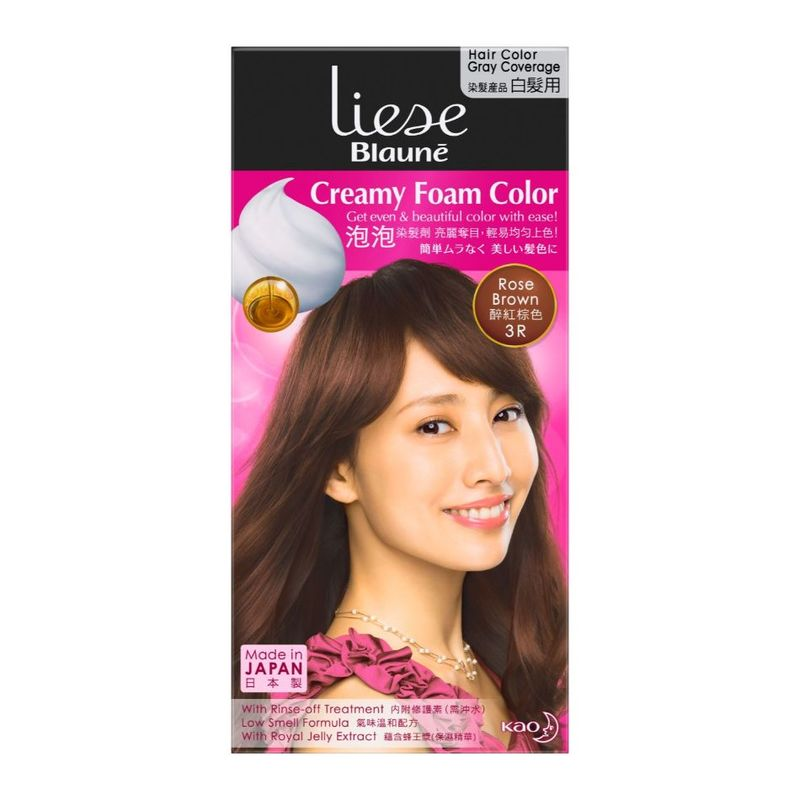 Liese Blaune Foam Color Rose Brown