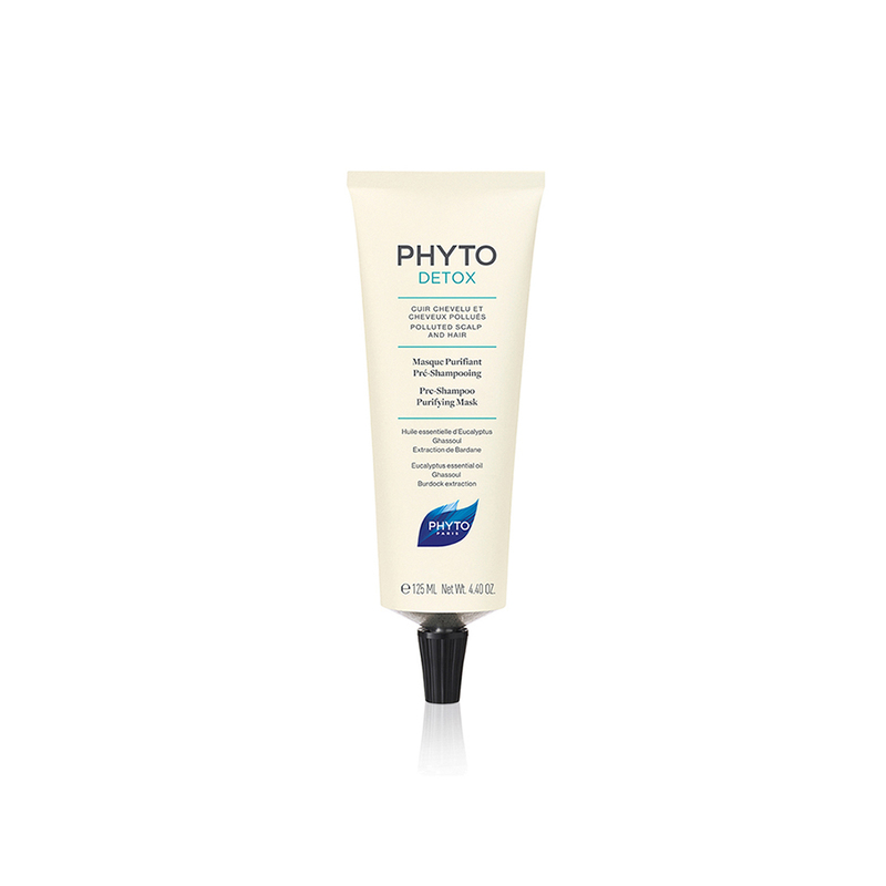 Phyto Phytodetox Purifying Mask Pre-Shampoo, 125ml