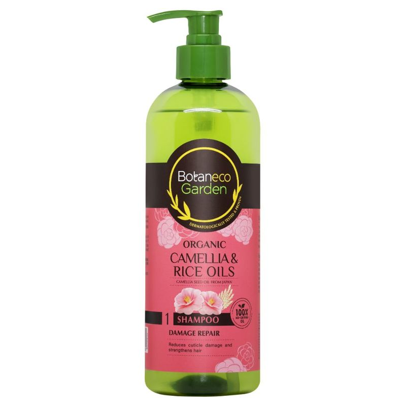 Botaneco Garden Camellia & Rice Oils Damage Repair Shampoo, 500ml