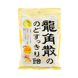 Ryukakusan Thorat Refreshing Candy Honey Lemon Gineger Flavor 69.3g