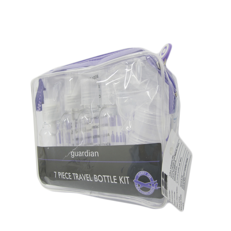 Guardian 7-Piece Travel Bottle Set
