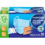 Mannings Face Mask 50pc
