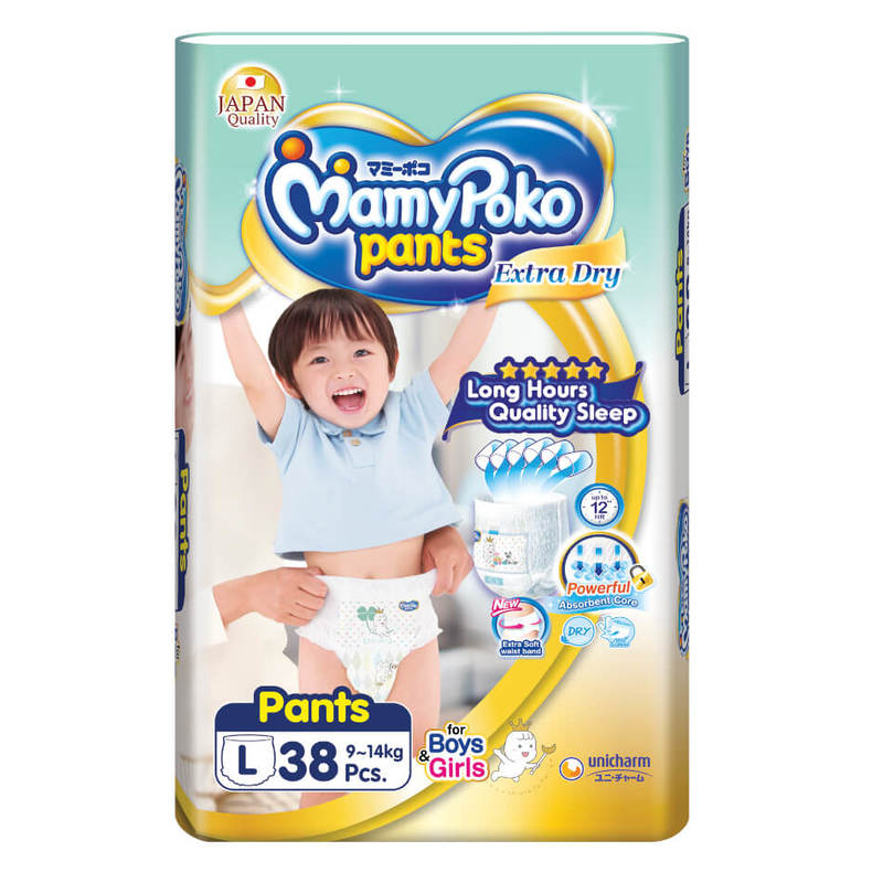 Mamy Poko Extra Dry Pants L38