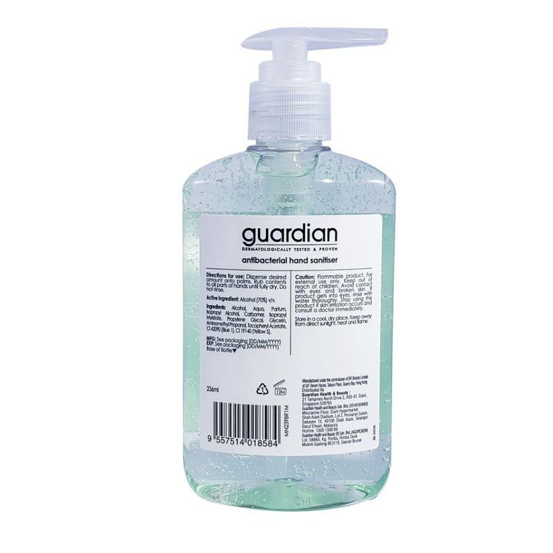 Guardian Antibacterial Hand Sanitiser 236ml