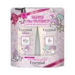 Essential X My Melody & Twin Stars Limited Pack (Moisturizing Frizz-Free) 480mL + 480mL
