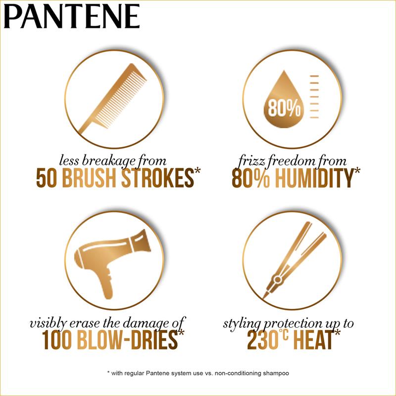 Pantene Total Damage Care Shampoo, 670ml