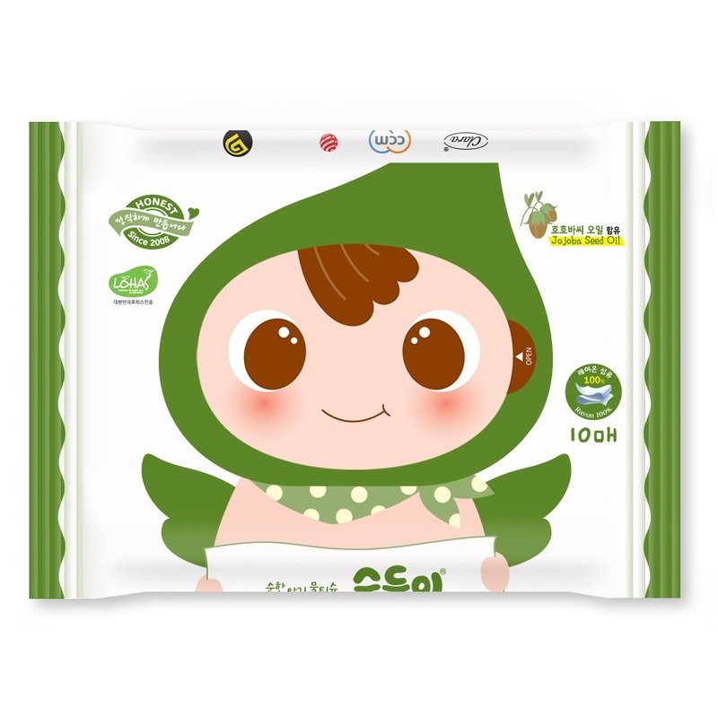 Soondoongi Lohas Wipes 10pcs-F