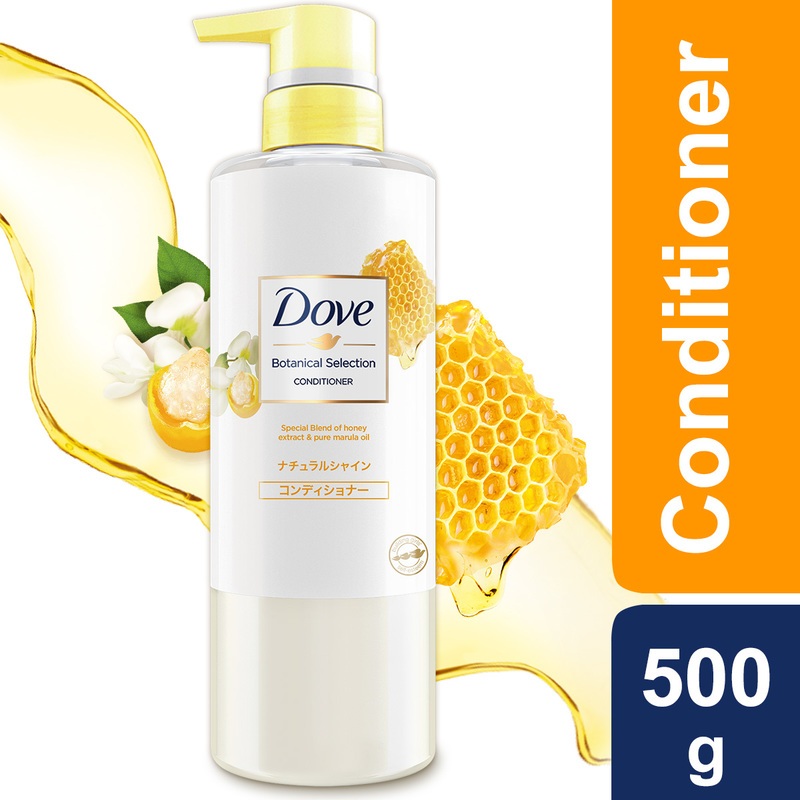 Dove Botanical Selection Natural Shine Condtioner 500g