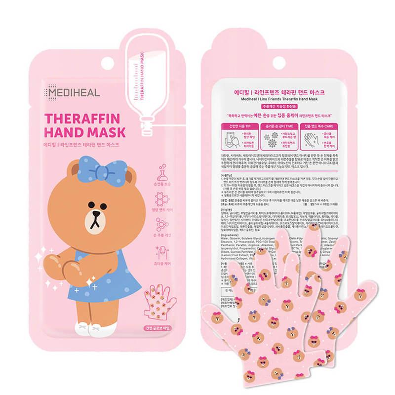 Mediheal LINE Theraffin Hand Mask 1s