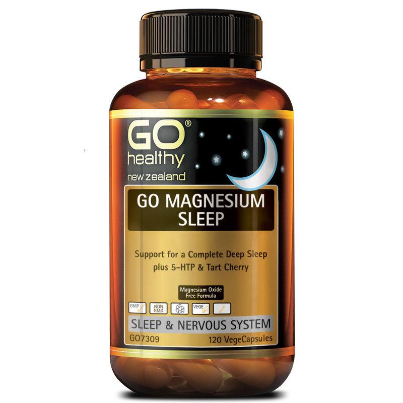 GO Healthy Magnesium Sleep, 120 capsules