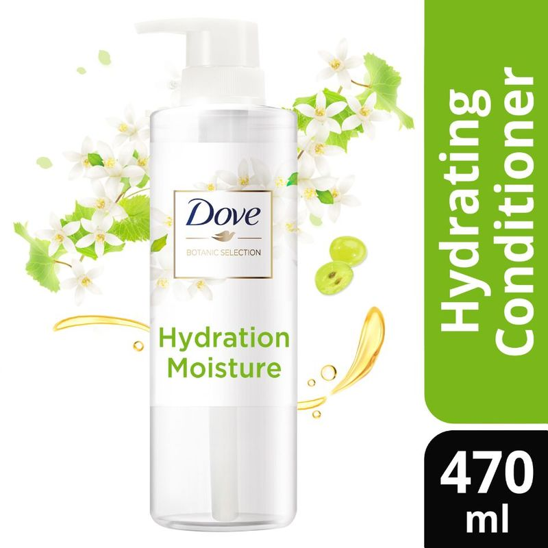 Dove Botanic Selection Conditioner Hydration Moisture 470ml