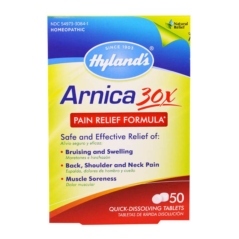 Hyland's Arnica 30x Pain Relief Formula, 50 tablets
