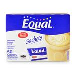 Equal Sweetener Sachet, 50 sachets