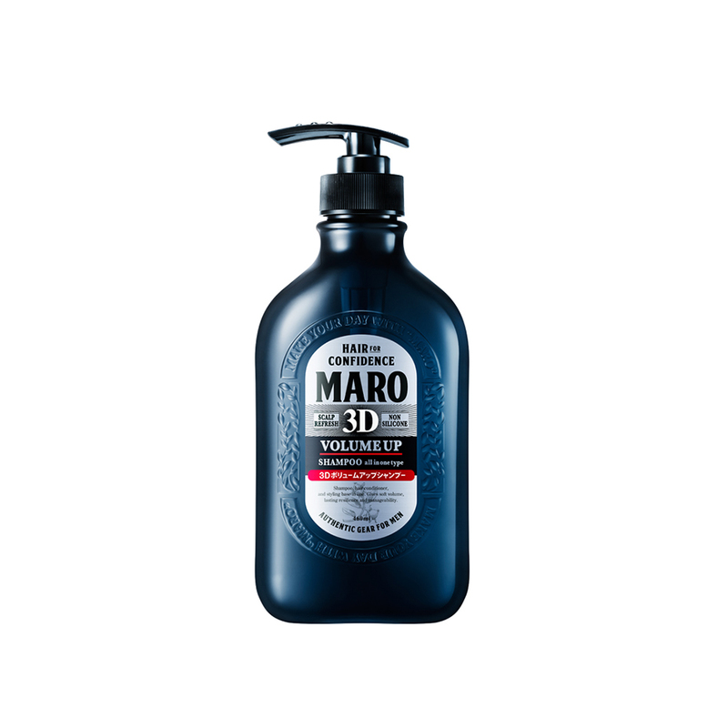 Maro 3D Volume Up Shampoo Ex, 460ml