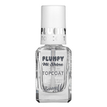 Barry M Gelly Shine Nail Paint Plum Top Coat, 1.14g