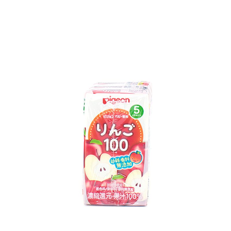 Pigeon Apple Juice 125mL X 3pcs
