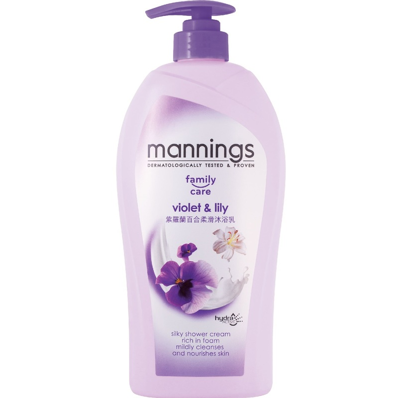 Mannings  Cream Bath 1000mLX3bottles