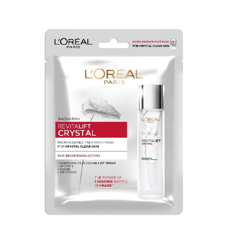 L'Oreal Paris Revitalift Crystal Micro-Essence Sheet Mask