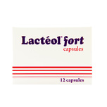 Lacteol Fort, 12 capsules