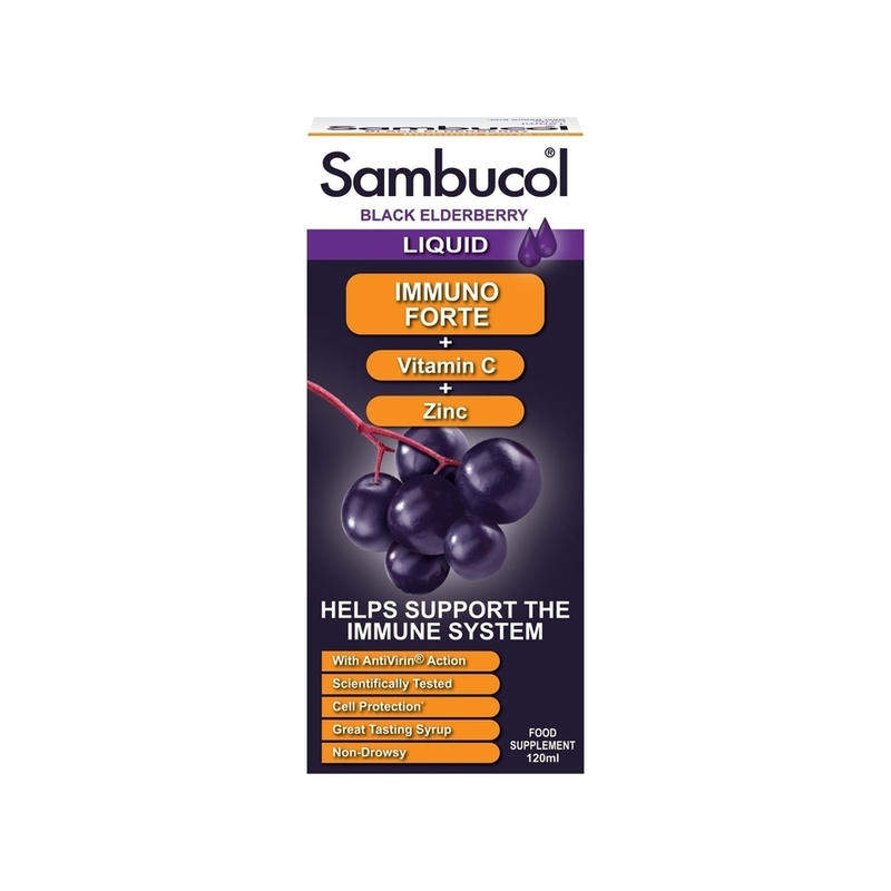 Sambucol Immuno Forte (UK Version), 120 ml.