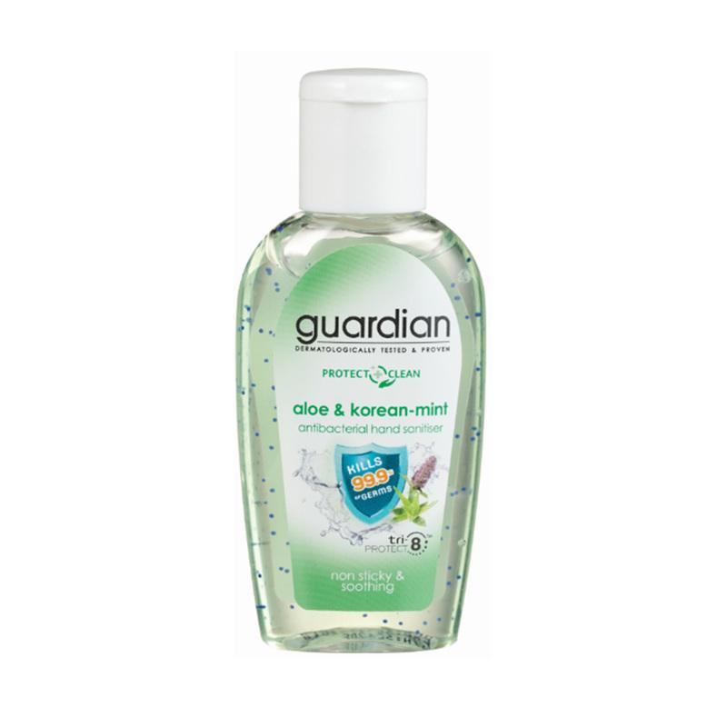 Guardian Antibacterial Hand Sanitiser Aloe & Korean Mint, 50ml