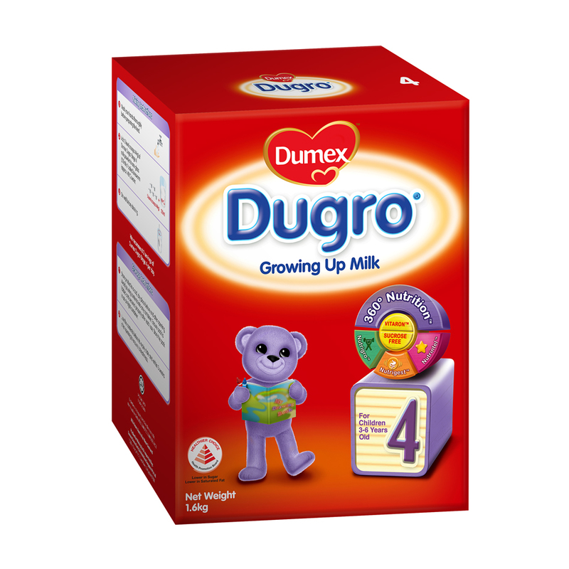 Dumex Dugro Stage 4 Growing Up Kid Milk Formula, 1.6kg