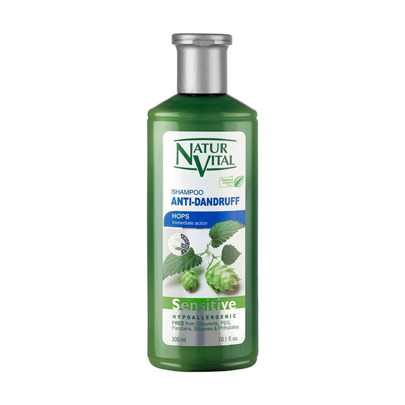 Natur Vital Sensitive Anti Dandruff Shampoo Hops, 300ml