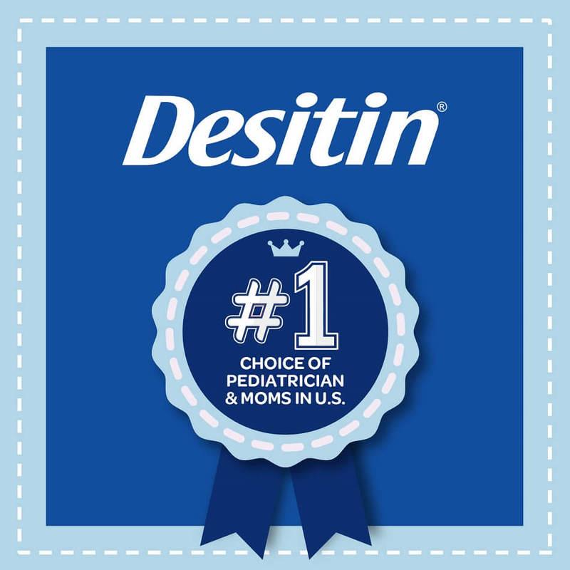 Desitin Maximum Strength Zinc Oxide Diaper Rash Paste, 57g