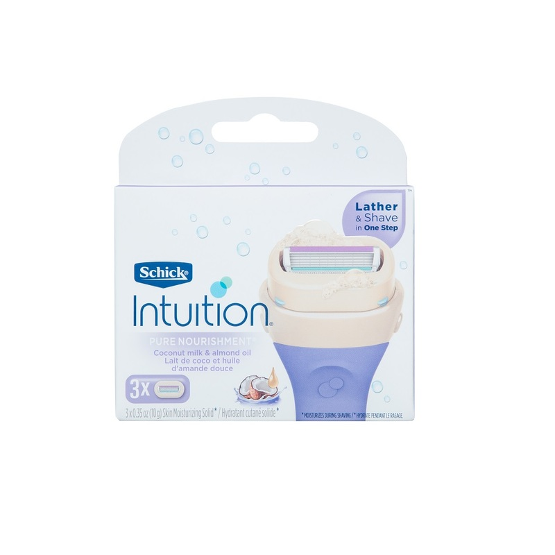Schick Intuition Coconut Refill 3s