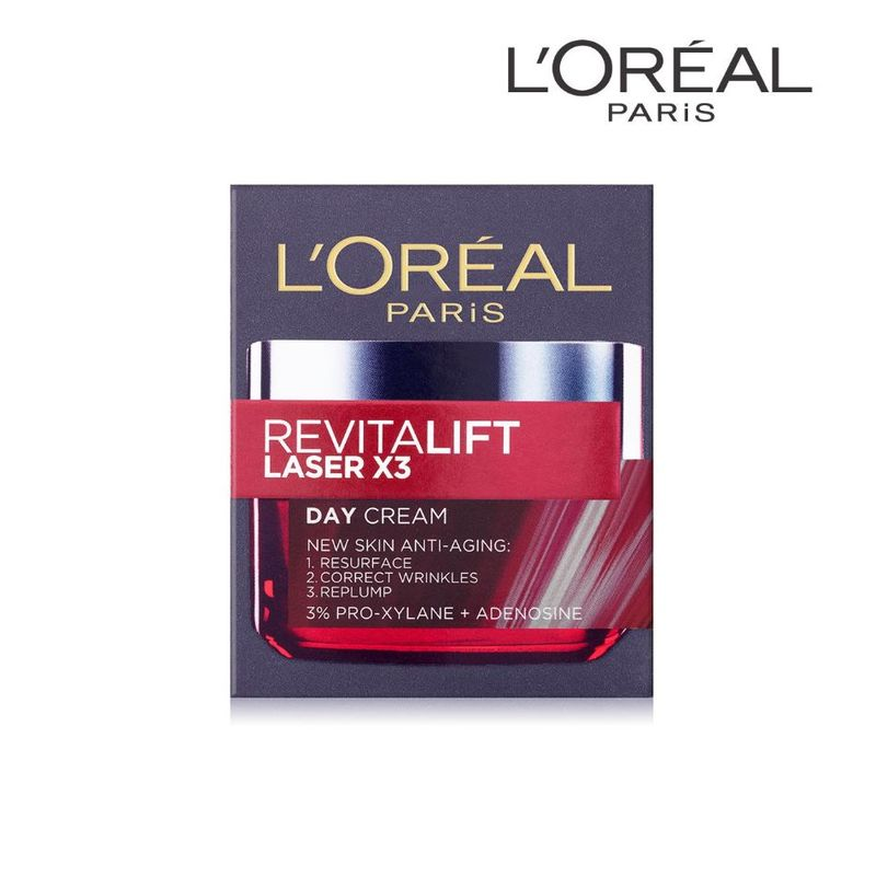 L'Oreal Paris Revitalift Laser X3 New Skin Anti-Aging Day Cream 50ml