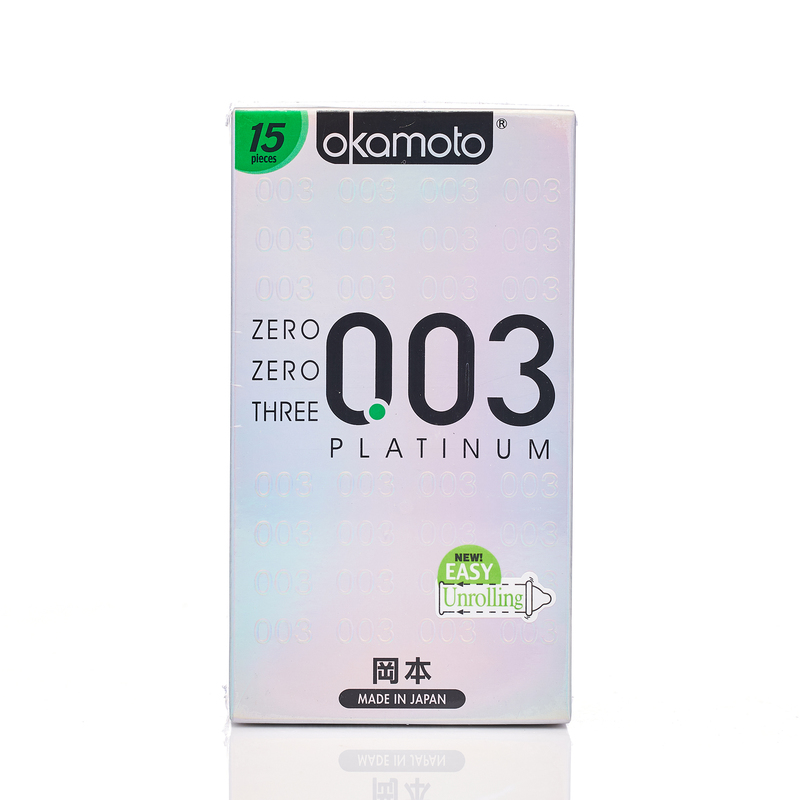 Okamoto 0.03 Platinum 15pcs