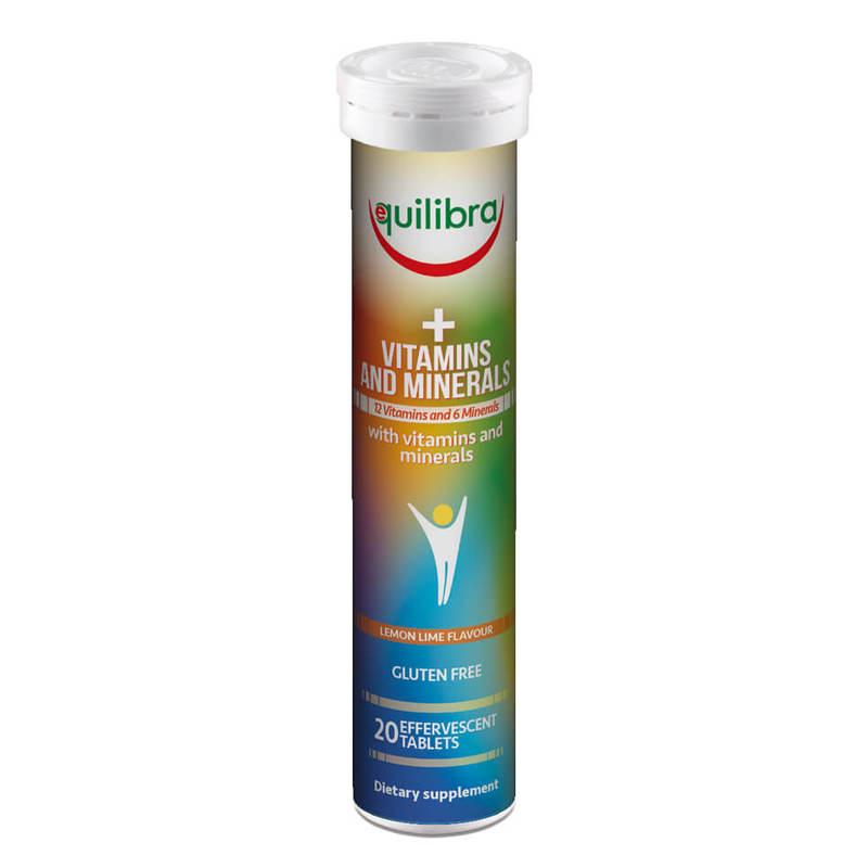 Equilibra, Multivitamins & Minerals, 20 Effervescent Tablets