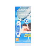 Mannings Infrar Forehead And Ear Thermometer 1pc