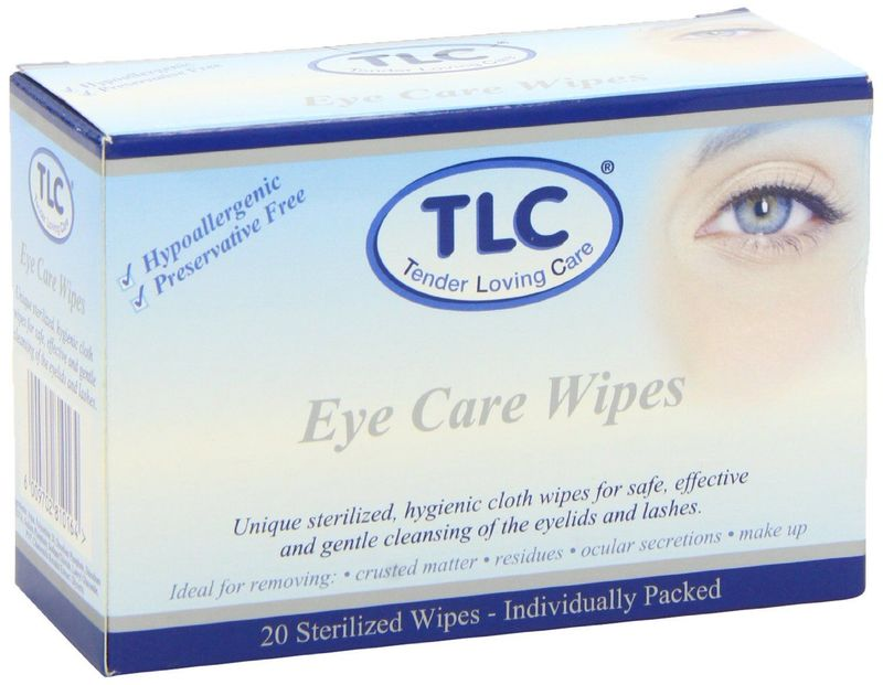 Tlc Eye Care Wipes, 20pcs