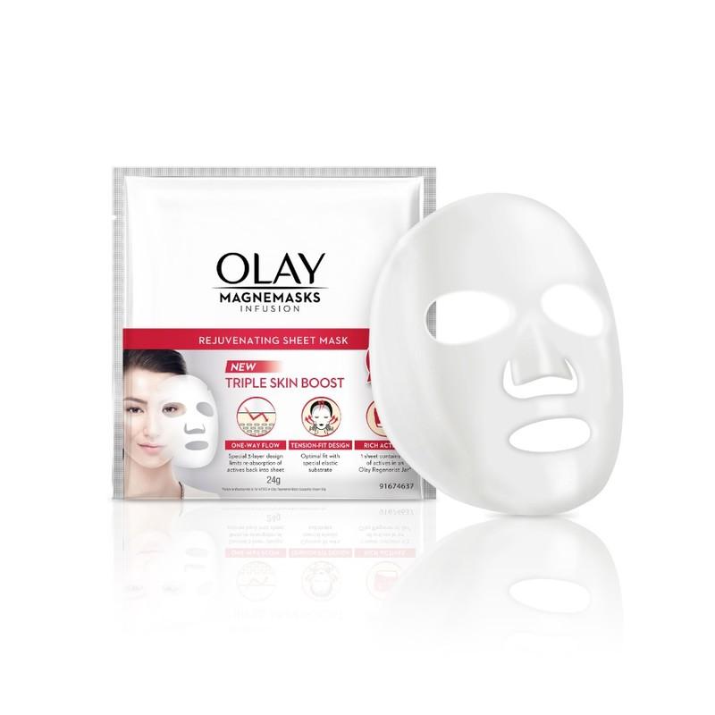 Olay Magnemasks Infusion Rejuvenating Sheet Mask