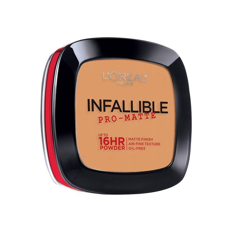 L'Oreal Paris Infallible Promatte Powder 500 Sun Beige
