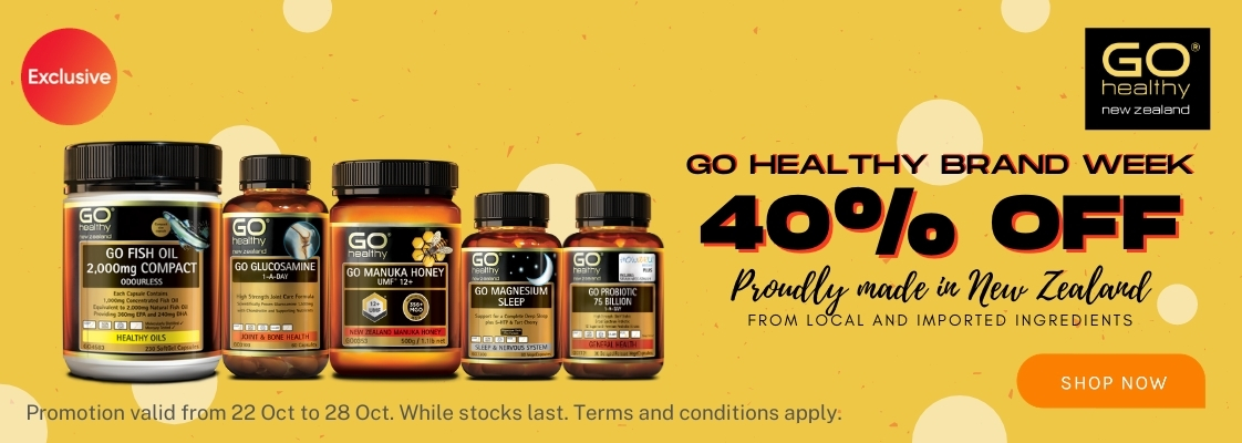 Go Healthy Brand Week - 22 to 28 Oct