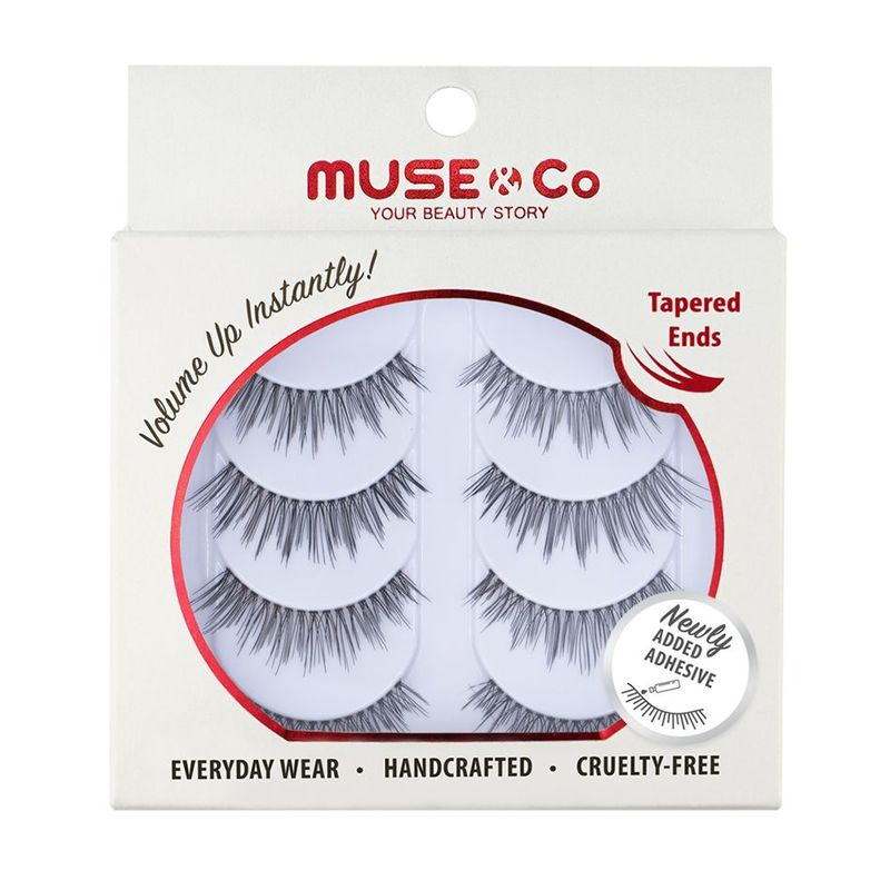 MUSE & Co - Multipack Eyelashes (4 pairs) - Romantic