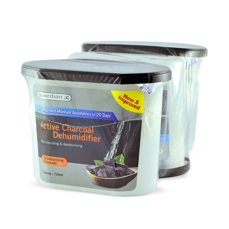 Guardian Dehumidifier Charcoal Triple Pack, 3x720ml