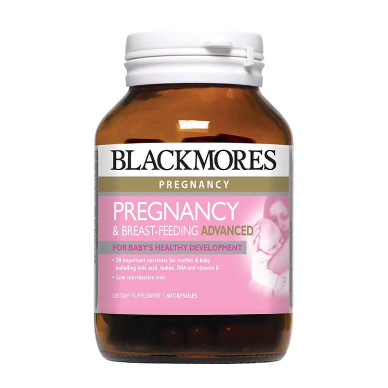 Blackmores Pregnancy & Breastfeeding Advanced, 60 capsules