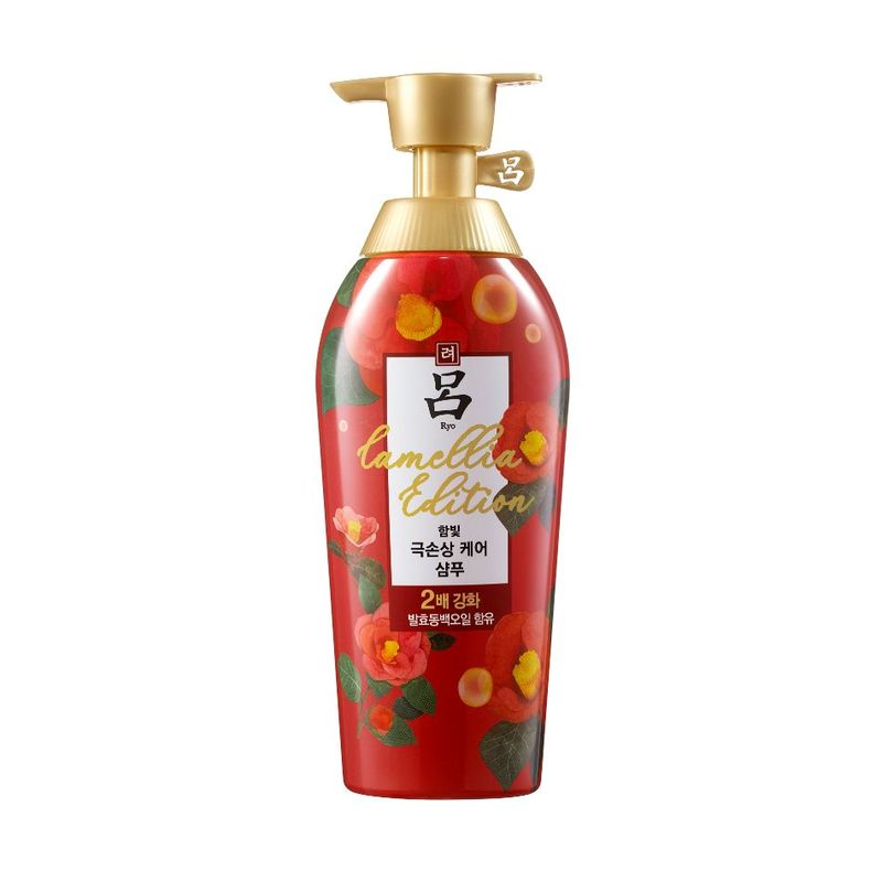 Ryo Damage Care Shampoo Camellia Special Edition 500ml |Upsize|