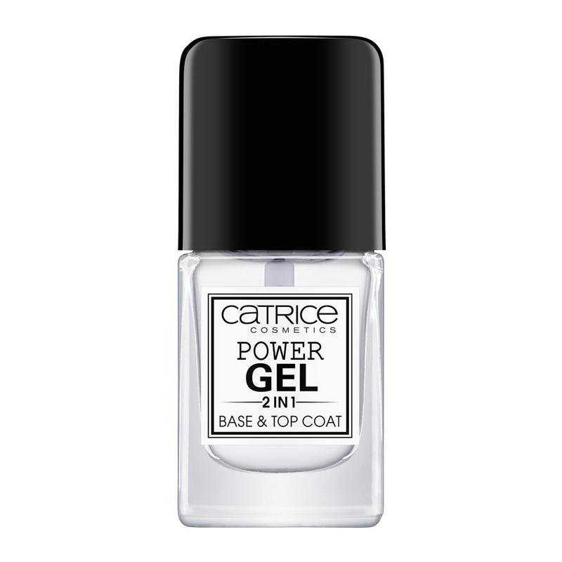 Catrice Power Gel 2 in 1 Base and Top Coat, 10ml