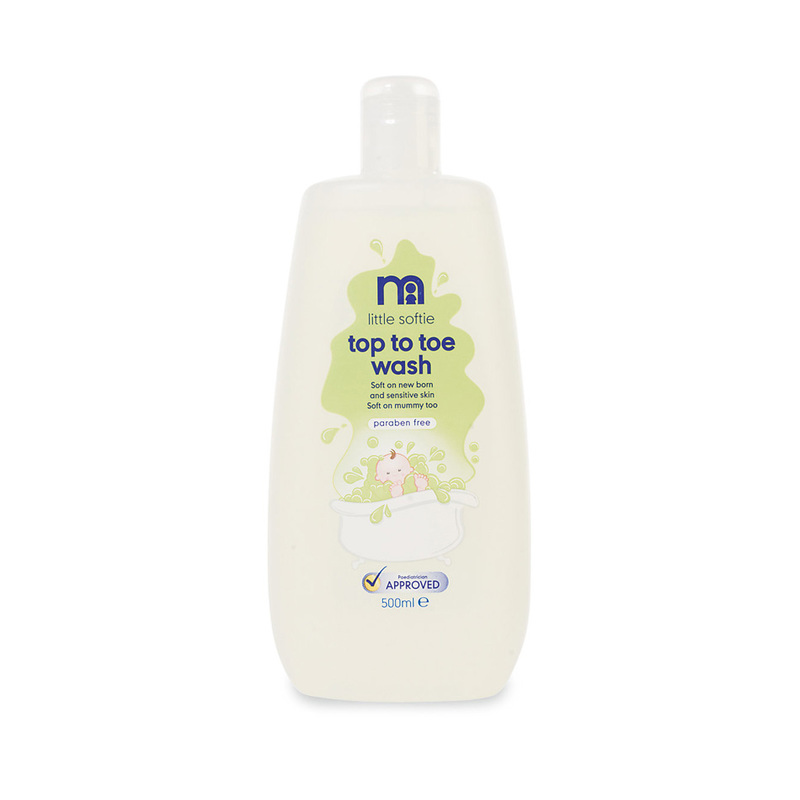 Mothercare Little Softie Top to Toe Wash, 500ml
