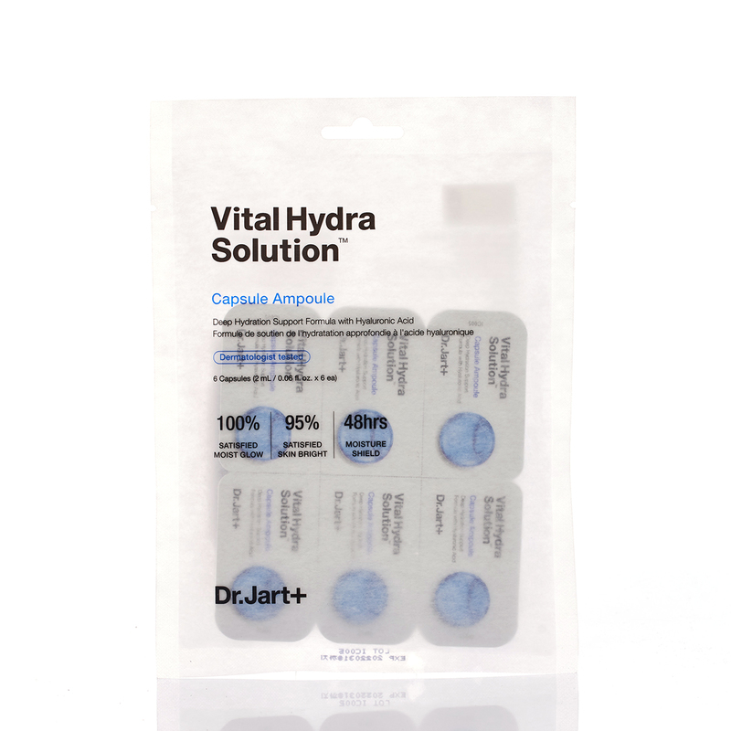 Dr. Jart+ Vital Hydra Solution Capsule Ampoule 2mL X6 bottles