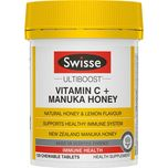 Swisse Ultiboost Vitamin C + Manuka Honey  120 chewable tablets