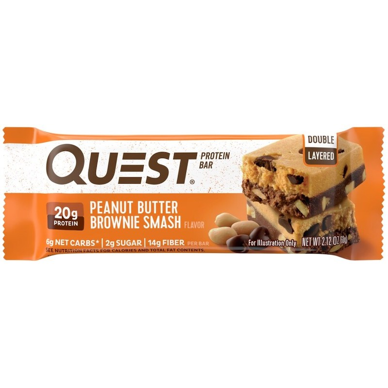 Quest Protein Bar Peanut Butter Brownie Smash 60g